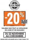 BLACK FRIDAY: 20% de remise sur TOUT le site et en boutique @ TEAMAXE