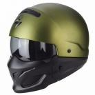 Casque Jet Scorpion EXO-Combat Vert Mat à 99,99€ (au lieu de 229,99€)